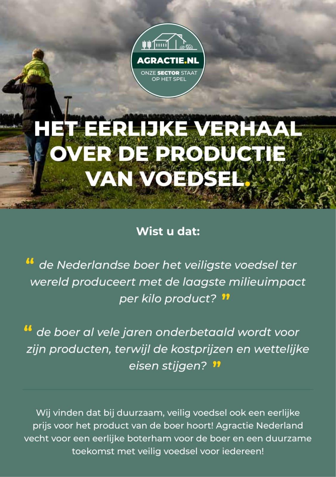 Actie boerderijprijzen eerlijk verhaal