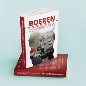 Omslag Boek Boerenprotesten - LR